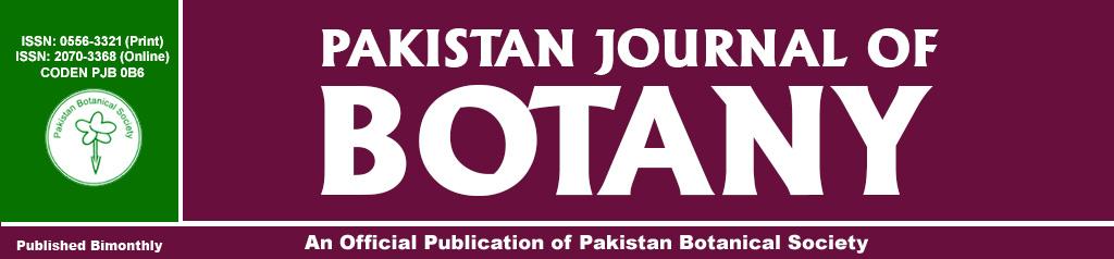 Pakistan Journal of Botany